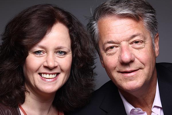 Caroline van Dijk en Marc Geerts Trainers